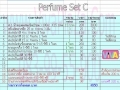  Perfume Set C (pf-1)  3730 